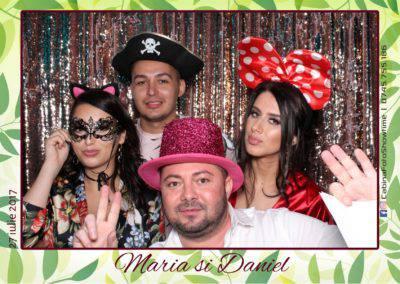 Cabina Foto Showtime - FUN BOX - Maria si Daniel - Cununie Conacul lui Maldar (115)