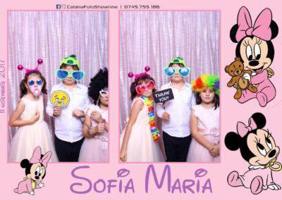 Cabina Foto Showtime - Botez Sofia Maria - Hotel Maria (129)