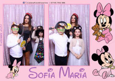 Cabina Foto Showtime - Botez Sofia Maria - Hotel Maria (135)