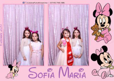 Cabina Foto Showtime - Botez Sofia Maria - Hotel Maria (138)