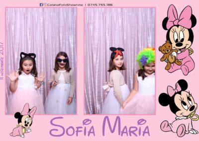 Cabina Foto Showtime - Botez Sofia Maria - Hotel Maria (145)