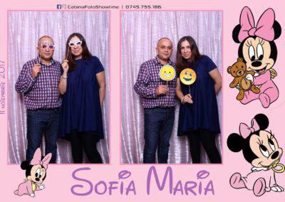 Cabina Foto Showtime - Botez Sofia Maria - Hotel Maria (154)