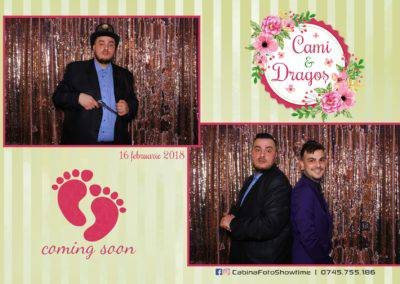 Cabina Foto Showtime - FUN BOX - Cununie Cami si Dragos - Luxury by the Lake Ramnicu Valcea - Print - 2
