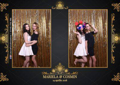 Cabina Foto Showtime - Nunta - Mariela si Cosmin - Restaurant Pro Marriage Ramnicu Vlacea - 11