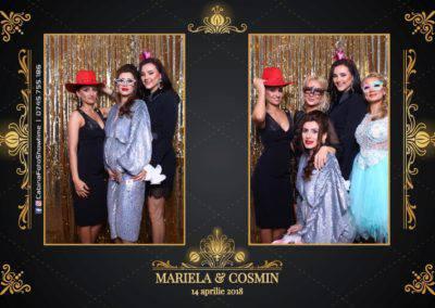 Cabina Foto Showtime - Nunta - Mariela si Cosmin - Restaurant Pro Marriage Ramnicu Vlacea - 25
