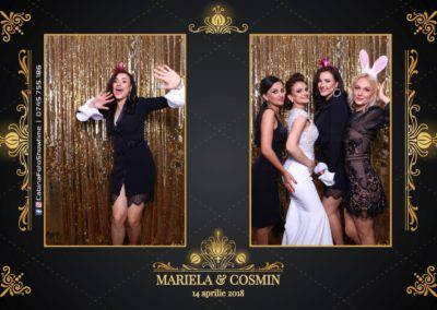 Cabina Foto Showtime - Nunta - Mariela si Cosmin - Restaurant Pro Marriage Ramnicu Vlacea - 28