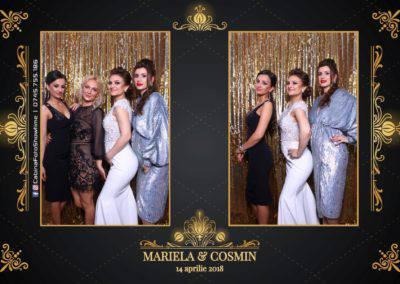 Cabina Foto Showtime - Nunta - Mariela si Cosmin - Restaurant Pro Marriage Ramnicu Vlacea - 29