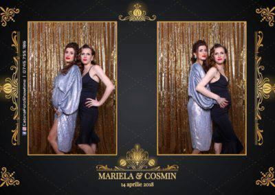Cabina Foto Showtime - Nunta - Mariela si Cosmin - Restaurant Pro Marriage Ramnicu Vlacea - 3
