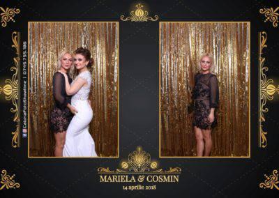 Cabina Foto Showtime - Nunta - Mariela si Cosmin - Restaurant Pro Marriage Ramnicu Vlacea - 30