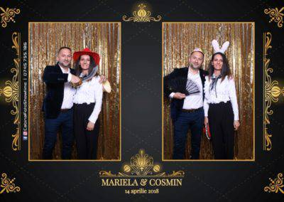 Cabina Foto Showtime - Nunta - Mariela si Cosmin - Restaurant Pro Marriage Ramnicu Vlacea - 31