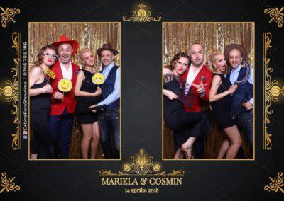Cabina Foto Showtime - Nunta - Mariela si Cosmin - Restaurant Pro Marriage Ramnicu Vlacea - 33