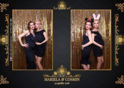 Cabina Foto Showtime - Nunta - Mariela si Cosmin - Restaurant Pro Marriage Ramnicu Vlacea - 34