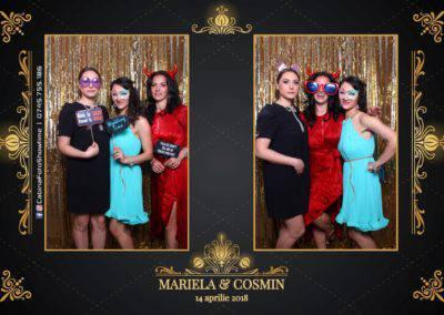 Cabina Foto Showtime - Nunta - Mariela si Cosmin - Restaurant Pro Marriage Ramnicu Vlacea - 35