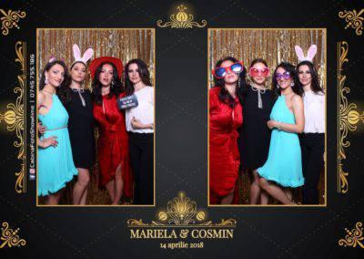 Cabina Foto Showtime - Nunta - Mariela si Cosmin - Restaurant Pro Marriage Ramnicu Vlacea - 37