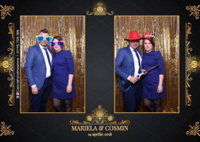 Cabina Foto Showtime - Nunta - Mariela si Cosmin - Restaurant Pro Marriage Ramnicu Vlacea - 39