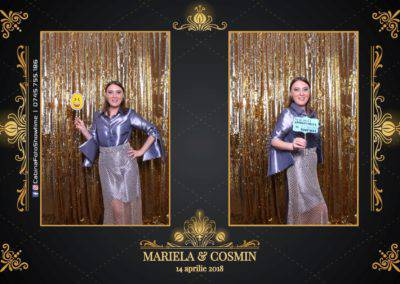 Cabina Foto Showtime - Nunta - Mariela si Cosmin - Restaurant Pro Marriage Ramnicu Vlacea - 45