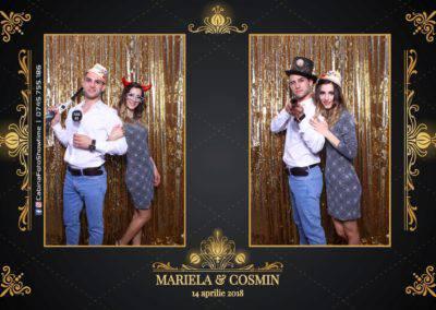 Cabina Foto Showtime - Nunta - Mariela si Cosmin - Restaurant Pro Marriage Ramnicu Vlacea - 54