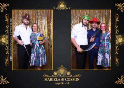 Cabina Foto Showtime - Nunta - Mariela si Cosmin - Restaurant Pro Marriage Ramnicu Vlacea - 60