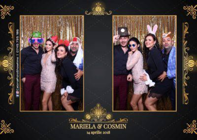 Cabina Foto Showtime - Nunta - Mariela si Cosmin - Restaurant Pro Marriage Ramnicu Vlacea - 64