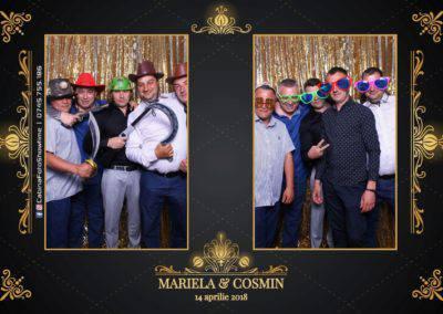 Cabina Foto Showtime - Nunta - Mariela si Cosmin - Restaurant Pro Marriage Ramnicu Vlacea - 7