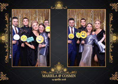 Cabina Foto Showtime - Nunta - Mariela si Cosmin - Restaurant Pro Marriage Ramnicu Vlacea - 73