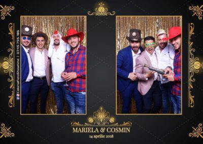 Cabina Foto Showtime - Nunta - Mariela si Cosmin - Restaurant Pro Marriage Ramnicu Vlacea - 75