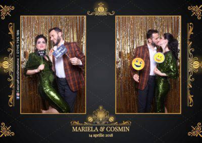 Cabina Foto Showtime - Nunta - Mariela si Cosmin - Restaurant Pro Marriage Ramnicu Vlacea - 77