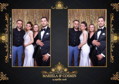 Cabina Foto Showtime - Nunta - Mariela si Cosmin - Restaurant Pro Marriage Ramnicu Vlacea - 80