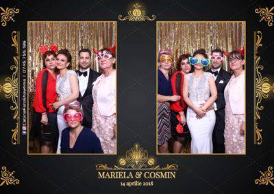 Cabina Foto Showtime - Nunta - Mariela si Cosmin - Restaurant Pro Marriage Ramnicu Vlacea - 81