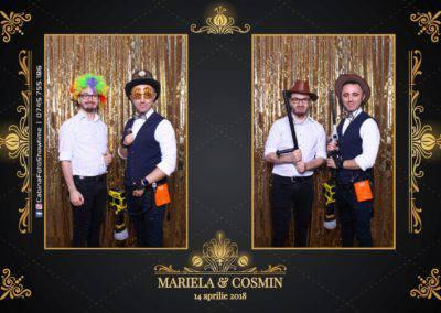 Cabina Foto Showtime - Nunta - Mariela si Cosmin - Restaurant Pro Marriage Ramnicu Vlacea - 85