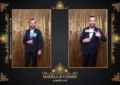 Cabina Foto Showtime - Nunta - Mariela si Cosmin - Restaurant Pro Marriage Ramnicu Vlacea - 86