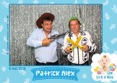 Cabina Foto Showtime - FUN BOX - Patrick Alex - Botez - Restaurant Paradis Events Valcea - Print (1)