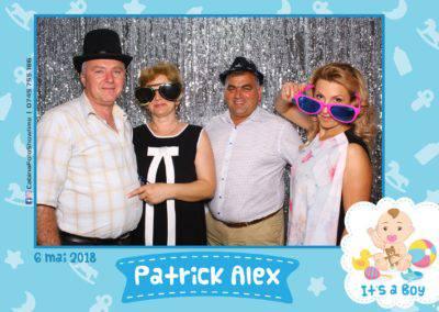 Cabina Foto Showtime - FUN BOX - Patrick Alex - Botez - Restaurant Paradis Events Valcea - Print (109)