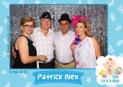 Cabina Foto Showtime - FUN BOX - Patrick Alex - Botez - Restaurant Paradis Events Valcea - Print (110)