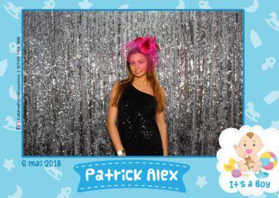 Cabina Foto Showtime - FUN BOX - Patrick Alex - Botez - Restaurant Paradis Events Valcea - Print (111)