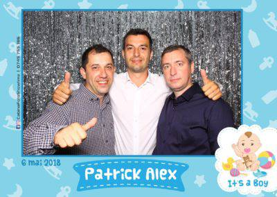 Cabina Foto Showtime - FUN BOX - Patrick Alex - Botez - Restaurant Paradis Events Valcea - Print (112)