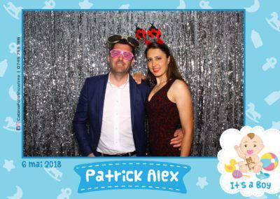 Cabina Foto Showtime - FUN BOX - Patrick Alex - Botez - Restaurant Paradis Events Valcea - Print (118)