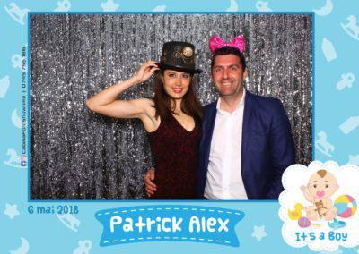 Cabina Foto Showtime - FUN BOX - Patrick Alex - Botez - Restaurant Paradis Events Valcea - Print (119)