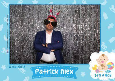 Cabina Foto Showtime - FUN BOX - Patrick Alex - Botez - Restaurant Paradis Events Valcea - Print (120)
