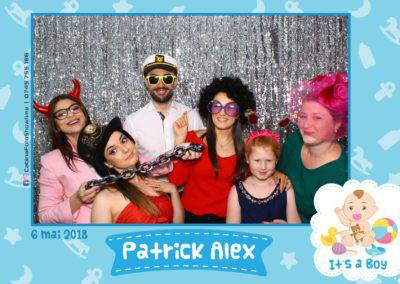 Cabina Foto Showtime - FUN BOX - Patrick Alex - Botez - Restaurant Paradis Events Valcea - Print (20)