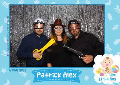 Cabina Foto Showtime - FUN BOX - Patrick Alex - Botez - Restaurant Paradis Events Valcea - Print (74)