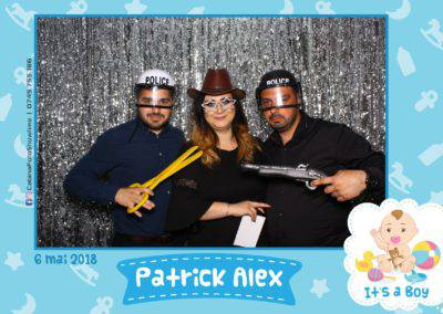 Cabina Foto Showtime - FUN BOX - Patrick Alex - Botez - Restaurant Paradis Events Valcea - Print (75)