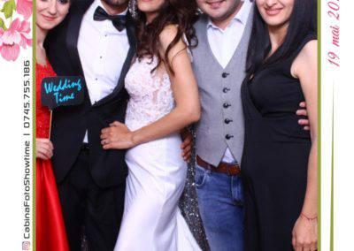 Cabina Foto Showtime - MAGIC MIRROR - Janina & Adrian - Nunta - Restaurant Premier Palace Horezu - Print (109)
