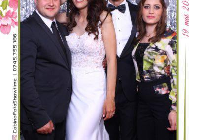 Cabina Foto Showtime - MAGIC MIRROR - Janina & Adrian - Nunta - Restaurant Premier Palace Horezu - Print (119)