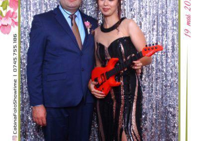 Cabina Foto Showtime - MAGIC MIRROR - Janina & Adrian - Nunta - Restaurant Premier Palace Horezu - Print (125)