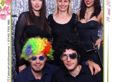 Cabina Foto Showtime - MAGIC MIRROR - Janina & Adrian - Nunta - Restaurant Premier Palace Horezu - Print (133)