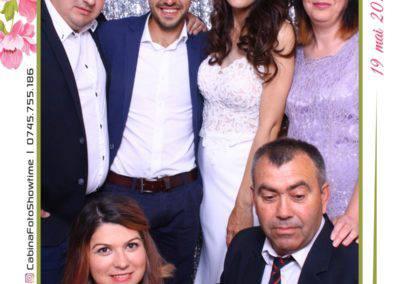 Cabina Foto Showtime - MAGIC MIRROR - Janina & Adrian - Nunta - Restaurant Premier Palace Horezu - Print (241)