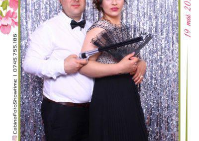 Cabina Foto Showtime - MAGIC MIRROR - Janina & Adrian - Nunta - Restaurant Premier Palace Horezu - Print (249)