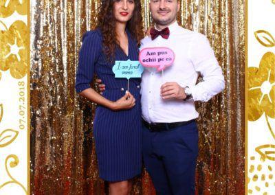 Cabina Foto Showtime - MAGIC MIRROR - Maria & Daniel - Nunta - OK Ballroom Ramnicu Valcea (100)