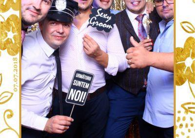 Cabina Foto Showtime - MAGIC MIRROR - Maria & Daniel - Nunta - OK Ballroom Ramnicu Valcea (201)